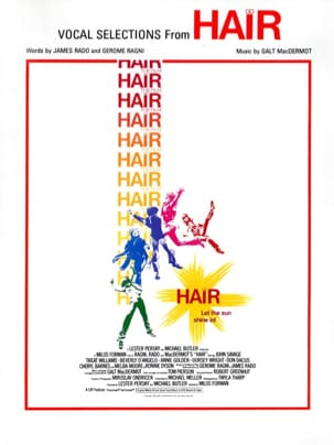 Hair - Vocal Selections Partition Comédie musicale - laflutedepan