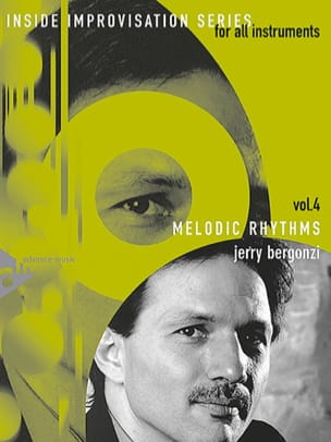 Jerry Bergonzi - Volume 4 - Melodic Rhythms - Partition - di-arezzo.fr