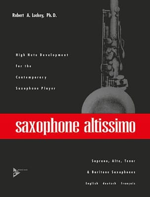 A Robert Luckey - Saxophone Altissimo - Partition - di-arezzo.fr