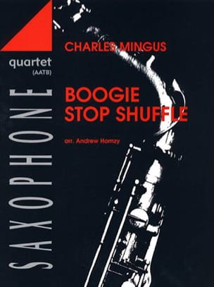 Boogie Stop Shuffle Charles Mingus Partition Saxophone - laflutedepan