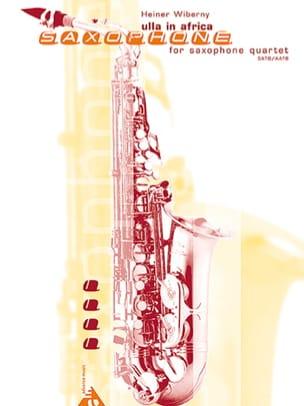 Ulla In Africa Heiner Wiberny Partition Saxophone - laflutedepan