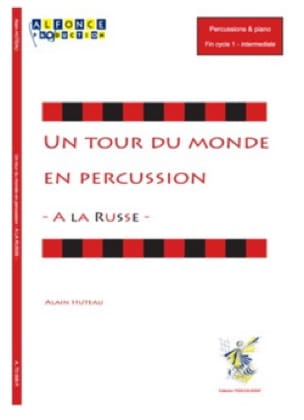 Alain Huteau - A la Russe - A world tour in percussion - Partition - di-arezzo.com