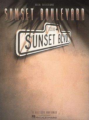 Sunset Boulevard Andrew Lloyd Webber Partition laflutedepan