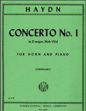 Concerto N° 1 HAYDN Partition Cor - laflutedepan