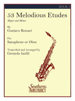 Gustavo Rossari - 53 Melodious Studies Volume 1 - Sheet Music - di-arezzo.com