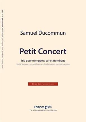 Samuel Ducommun - Pequeño concierto - Partitura - di-arezzo.es