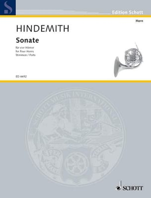 Sonate Paul Hindemith Partition Cor - laflutedepan
