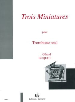 Gérard Buquet - Three thumbnails - Sheet Music - di-arezzo.co.uk