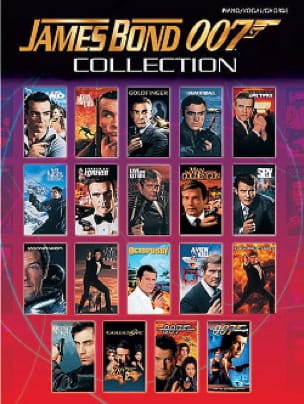 James Bond 007 Collection Partition Musique de film - laflutedepan
