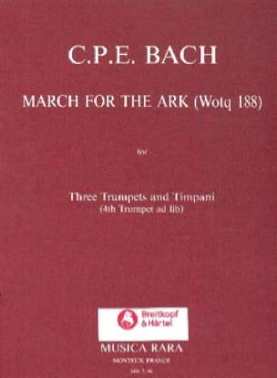 March For The Ark - Carl Philipp Emanuel Bach - laflutedepan.com