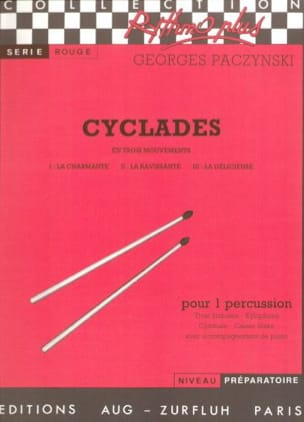 Cyclades Georges Paczynski Partition Multi Percussions - laflutedepan