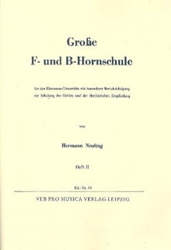 Hermann Neuling - Fat F Und B Hornschule Volume 2 - Sheet Music - di-arezzo.com