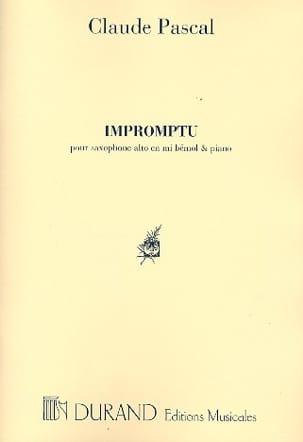 Claude Pascal - improvisado - Partitura - di-arezzo.es