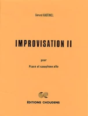 Gérard Gastinel - Improvisation 2 - Sheet Music - di-arezzo.com