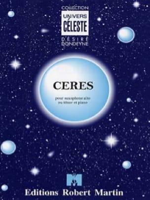 Désiré Dondeyne - Ceres - Partition - di-arezzo.co.uk