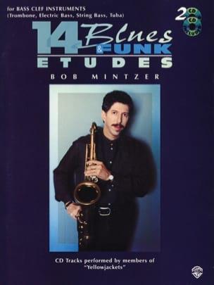 Bob Mintzer - 14 Blues & Funk Etudes - Partition - di-arezzo.fr