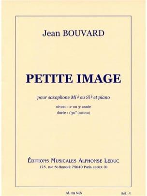 Petite Image Jean Bouvard Partition Saxophone - laflutedepan