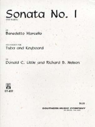 Benedetto Marcello - Sonata N° 1 In F Major - Partition - di-arezzo.fr