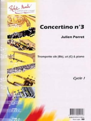 Concertino N° 3 - Julien Porret - Partition - laflutedepan.com