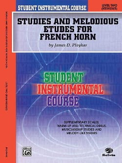 James Ployhar - Studies & melodious etudes for french horn volume 2 - Partition - di-arezzo.fr