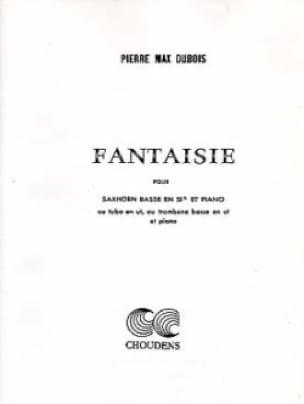 Fantaisie Pierre-Max Dubois Partition Tuba - laflutedepan