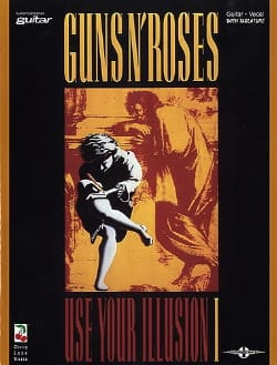 Guns N' Roses - Use Your Illusion Volume 1 - Sheet Music - di-arezzo.com