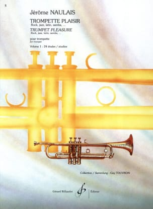 Jérôme Naulais - Trumpet Pleasure Volume 1 - 24 Studies - Sheet Music - di-arezzo.com