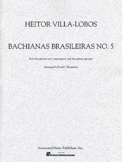 Heitor Villa-Lobos - Bachianas Brasileiras N ° 5 - Partition - di-arezzo.es