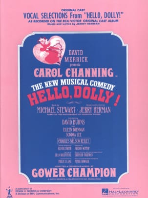 Jerry Herman - Hello, Dolly - Vocal Selections - Sheet Music - di-arezzo.co.uk