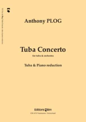 Tuba Concerto Anthony Plog Partition Tuba - laflutedepan