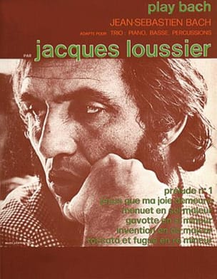Jacques Loussier - Play Bach - Partition - di-arezzo.fr