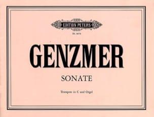 Sonate Harald Genzmer Partition Trompette - laflutedepan