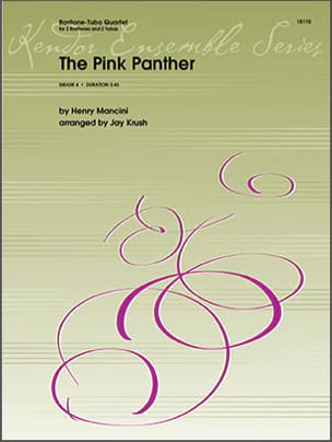 Henry Mancini - The Pink Panther - Tubas Quartet - Partition - di-arezzo.co.uk