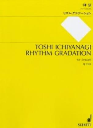 Rhythm Gradation Toshi Ichiyanagi Partition Timbales - laflutedepan