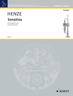 Hans Werner Henze - Sonatina - Sheet Music - di-arezzo.co.uk