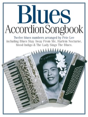 Blues Accordion Songbook Partition Accordéon - laflutedepan