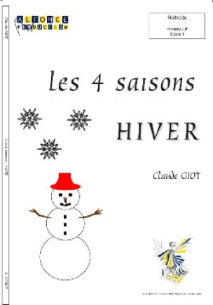 Claude Giot - The 4 Seasons - Winter - Sheet Music - di-arezzo.co.uk