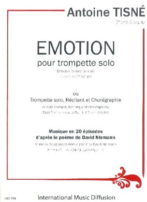Antoine Tisné - Emotion - Sheet Music - di-arezzo.co.uk
