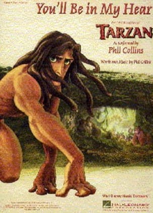 Phil Collins - You'll Be In My Heart Movie Tarzan - Sheet Music - di-arezzo.co.uk