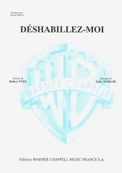Déshabillez Moi - Juliette Greco - Partition - laflutedepan.com
