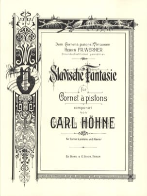 Carl Höhne - Slavische Fantasy - Sheet Music - di-arezzo.co.uk