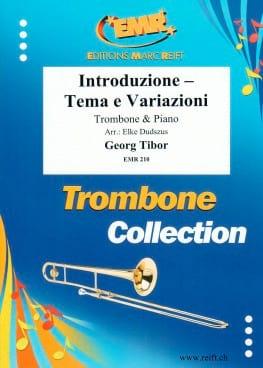 Introduzione Tema E Variazioni Georg Tibor Partition laflutedepan
