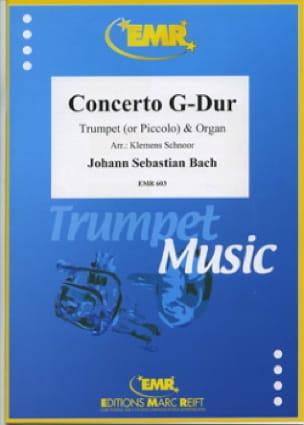 BACH - Concerto G-Dur - Partition - di-arezzo.fr