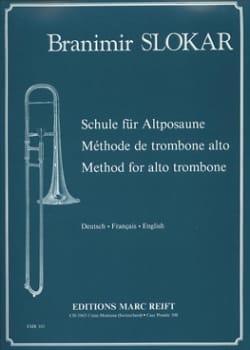 Branimir Slokar - Alto Trombone Method - Sheet Music - di-arezzo.com