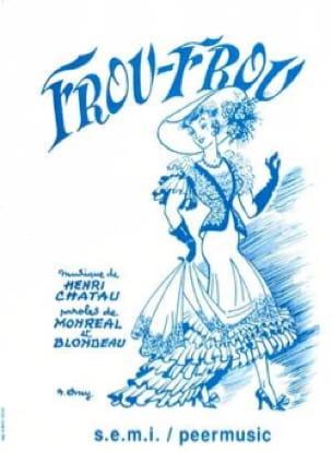 Chatau - frou Frou - Sheet Music - di-arezzo.co.uk