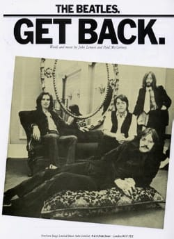 BEATLES - Get Back - Partition - di-arezzo.co.uk