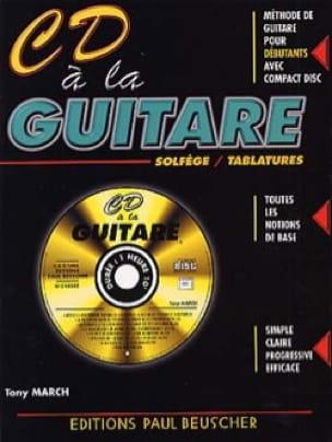 CD A la Guitare - Tony March - Partition - Guitare - laflutedepan.com