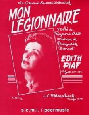 Edith Piaf - Mon légionnaire - Partition - di-arezzo.fr