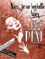 Edith Piaf - No, I do not regret anything - Sheet Music - di-arezzo.co.uk