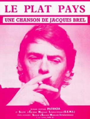 Jacques Brel - The flat country - Sheet Music - di-arezzo.co.uk